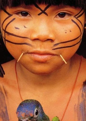 Niña Yanomami