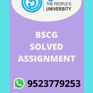 BCHCT-131 ATOMIC STRUCTURE, BONDING, GENERAL ORGANIC CHEMISTRY AND ALIPHATIC HYDROCARBONS in HINDI Solved Assignment 2020-2021