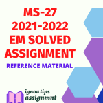 MS-27 Compensation and Rewards Management Solved Assignment 2021-2022