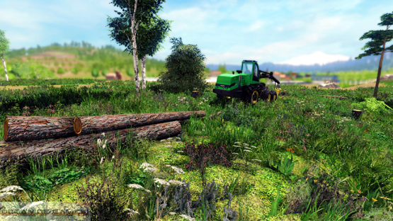 Professional Lumberjack PC Game 2015 Setup Download For Free