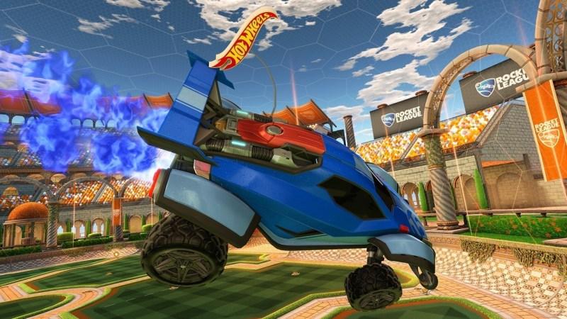 Rocket League Hot Wheels Edition Features
