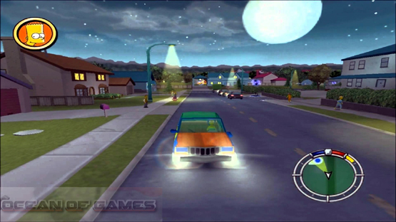 The Simpsons Hit and Run Features