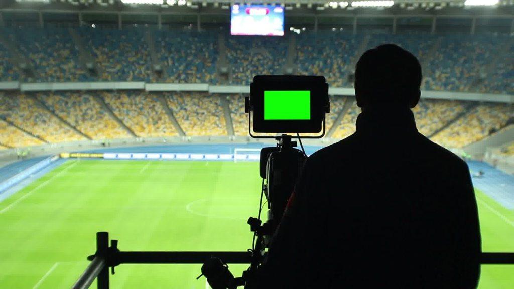 Kamera boisko telewizja TVP