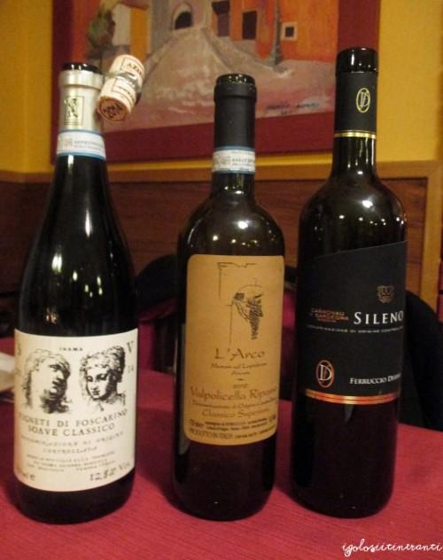 Selezione di vini del Torcio