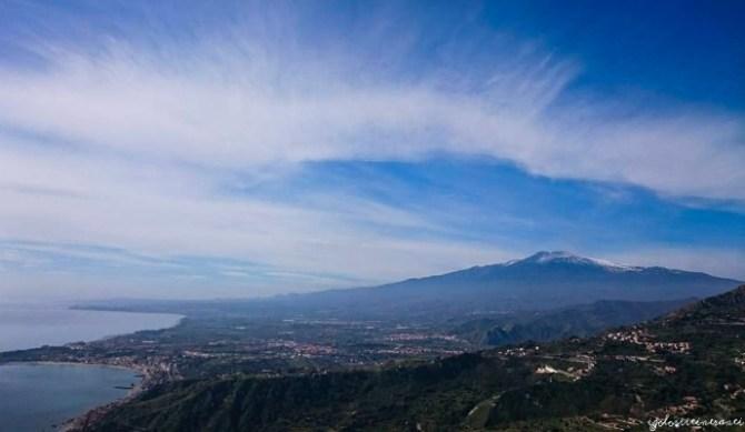 Vista dell'Etna da Castelmola