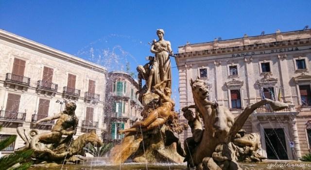 Fontana di Afrodite, Ortigia (Siracusa)