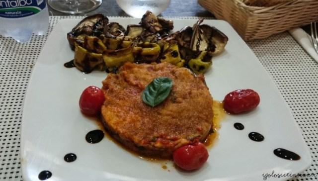 Piatto del Ristorante Il Borghetto a Taormina
