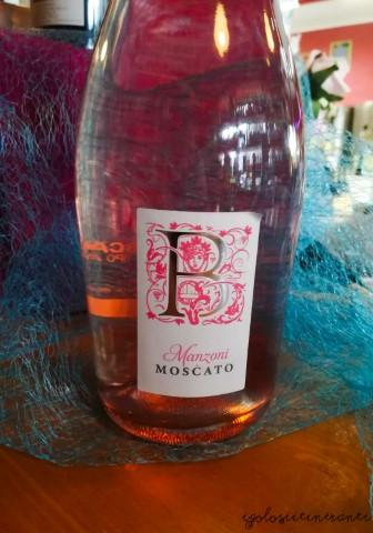 Bottiglia di Manzoni Moscato