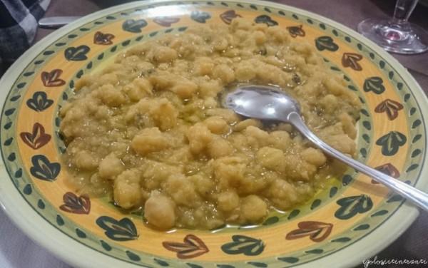 Zuppa di ceci del Ristorante Le Pietre