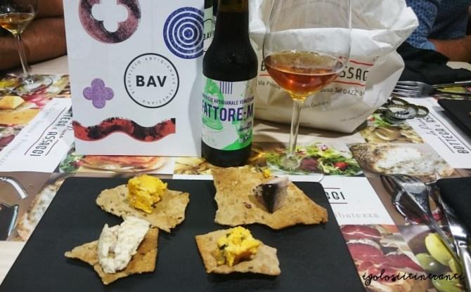 formaggi erborinati abbinati a birra Fattore M birrificio BAV