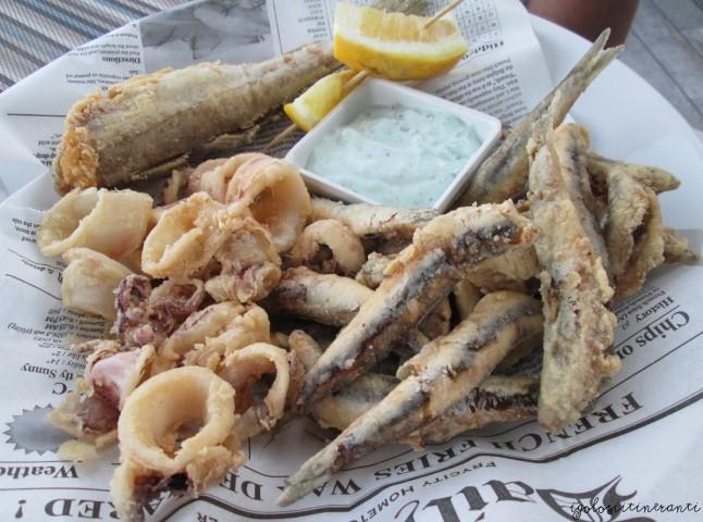 Frittura di pesce, Acquapazza (Sistiana Mare)