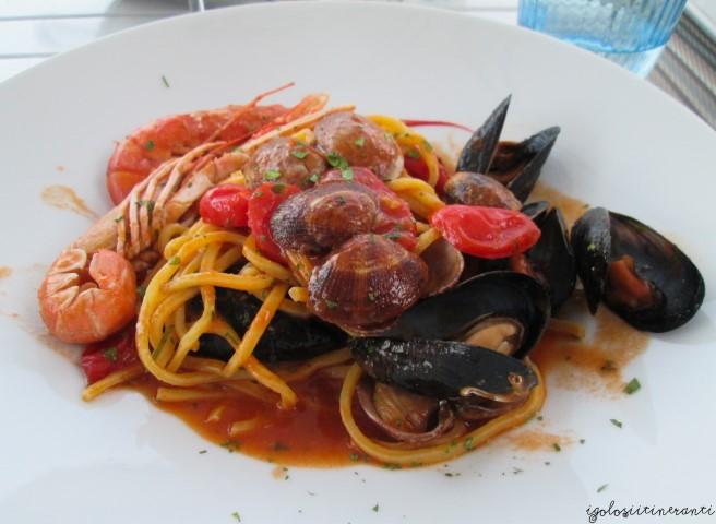 Pasta ai frutti di mare, Acquapazza (Sistiana Mare)