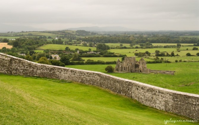 Pianura di Tipperary vista dalla Rock of Cashel, Irlanda