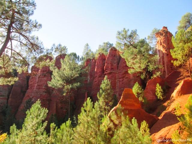 Rustrel, Roussillon e gli incredibili colori delle ocre