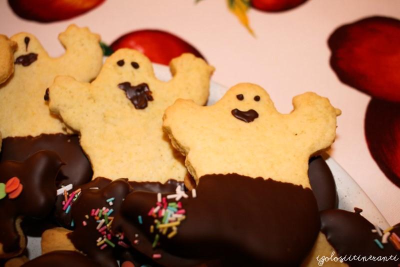 Biscotti di frolla al limone per Halloween