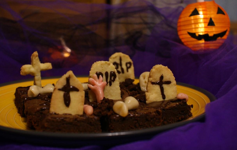 Dolce di Halloween: il cimitero stregato