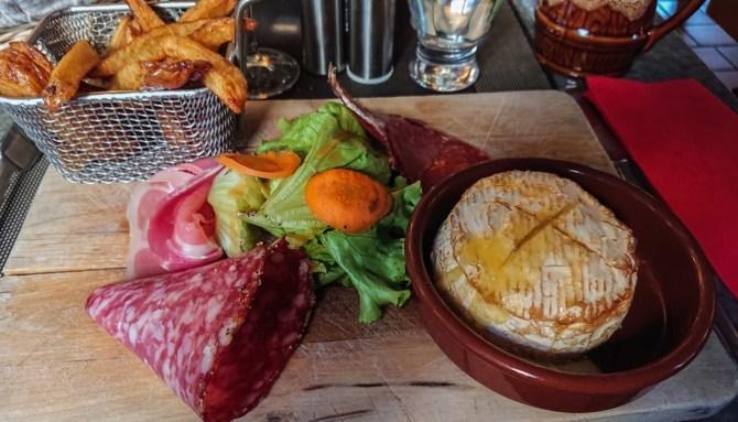 Camembert roti a La Grolle, Blois