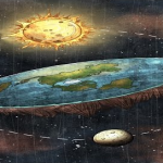 What a flat earth may look like