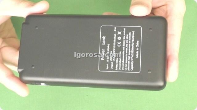 Характеристики Powerbank для ноутбука AiLi 65 Вт