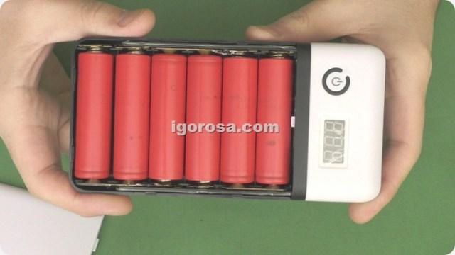 аккумуляторы подкючены 3 последовательно по 2 ячейки