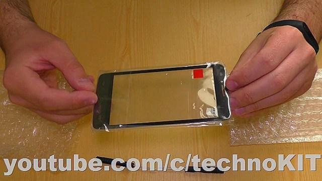 Новый тачскрин для замены вместо разбитого на смартфоне