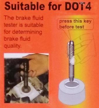 Проверяем тормозную жидкость тестером