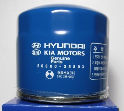 Масляный фильтр Hyundai Kia Motors 26300-35503