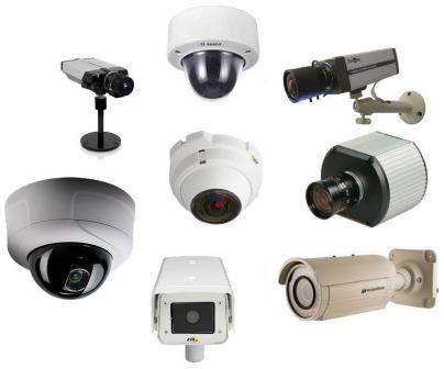 Разные виды IP камер