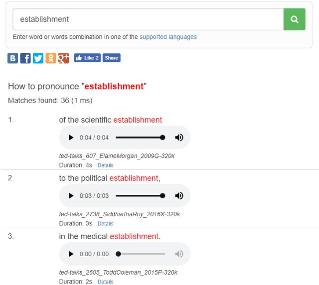 voicecup.com пример результатов поиска