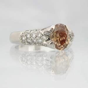 bruine diamant