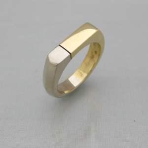 Bicolour ring