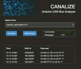 CANALIZE, a web-based network protocol analyzer