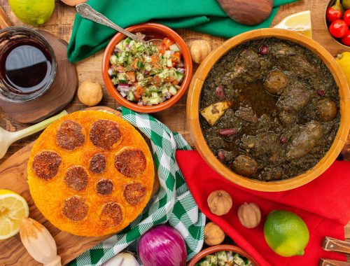 Ghormeh Sabzi Recipe - I got it from my Maman | I got it from my Maman