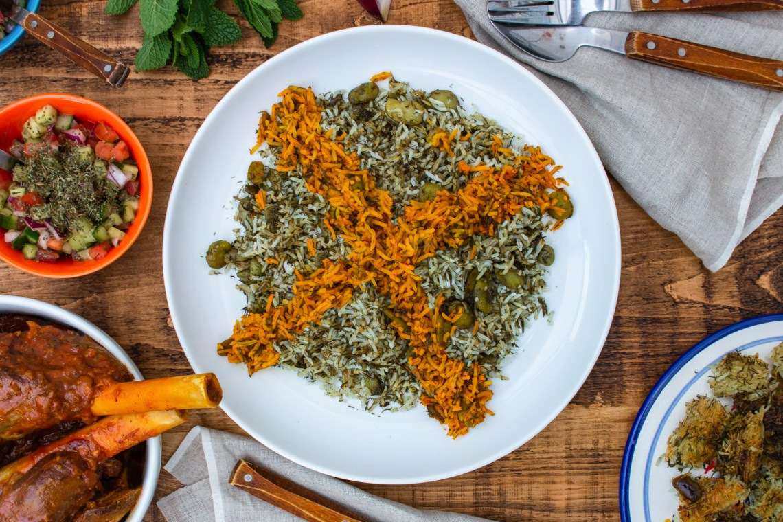 Baghali Polo | Persian Rice with Dill and Broad Beans | igotitfrommymaman.com