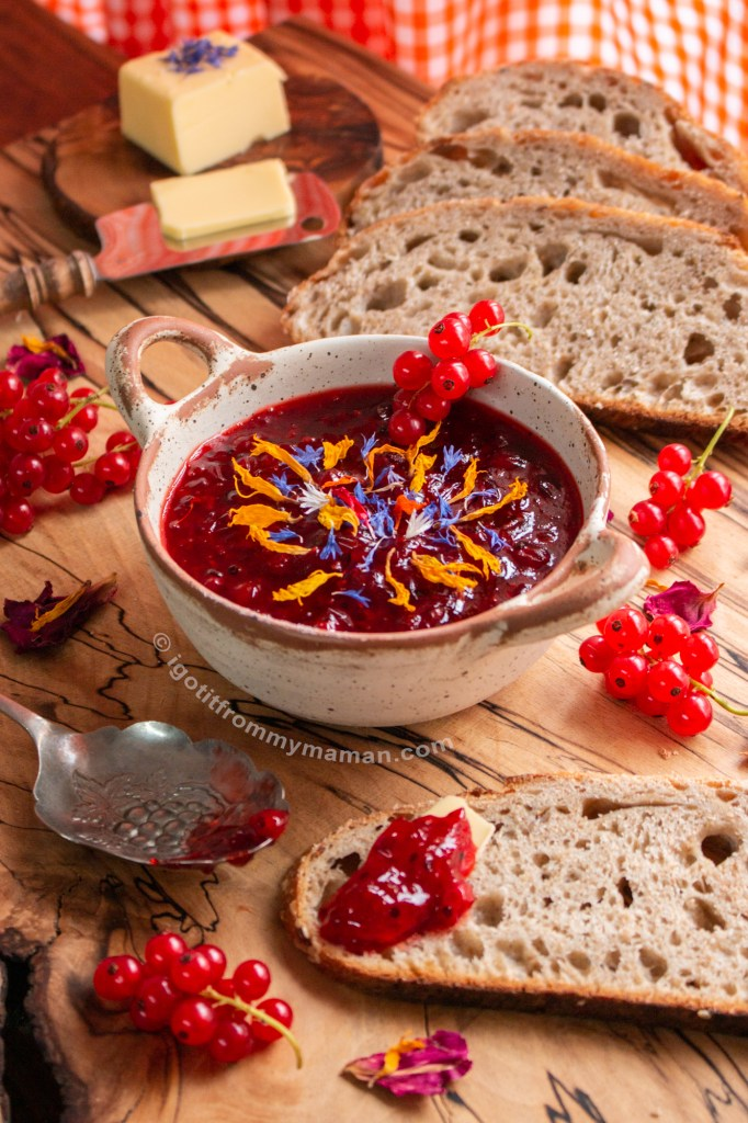 Red Currant Jam Recipe  | I got it from my Maman