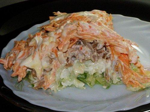 Рецепт салата «Мужской каприз». Как приготовить вкусный ...
