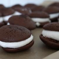 Marshmallows och choklad