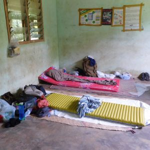 Gaua Trip 2017 - sleeping area