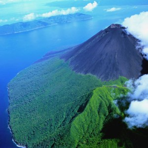 Vanuatu still has several active volcanoes