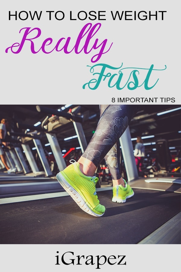 How to Lose Weight Really Fast