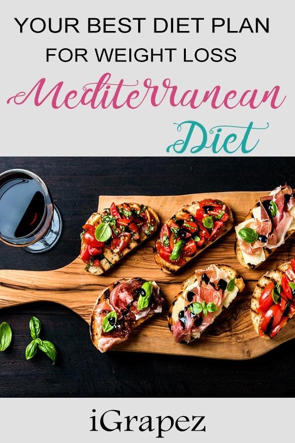 Mediterranean Diet – Your Best Diet Plan For Weight Loss
