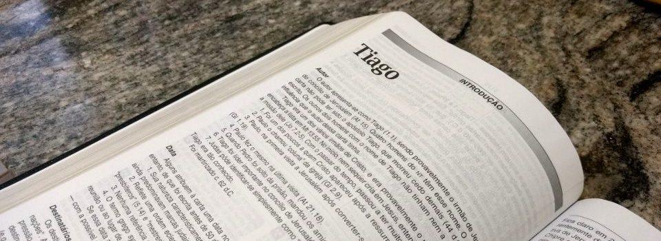 Introdução Carta a Tiago