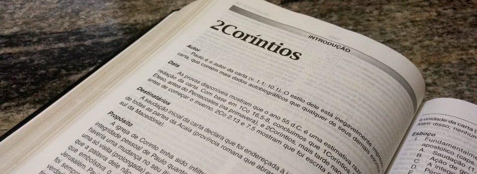 Introdução - Segunda Carta aos Coríntios
