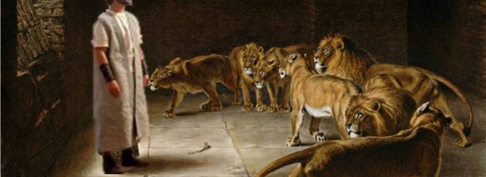 O Profeta Daniel na cova com os Leões