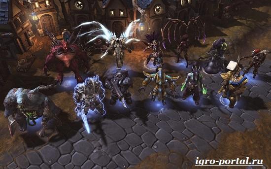 Обзор-игры-Heroes-of-Warcraft-4