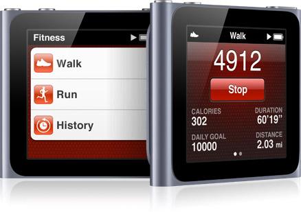 iPod Nano with Nike+