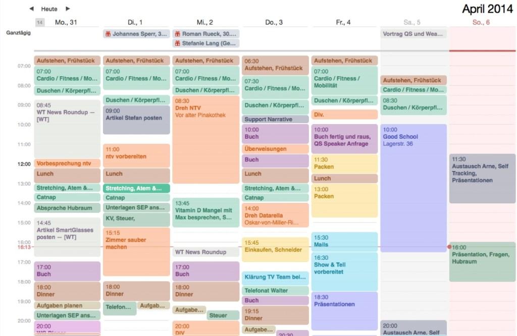 Kalender IPad
