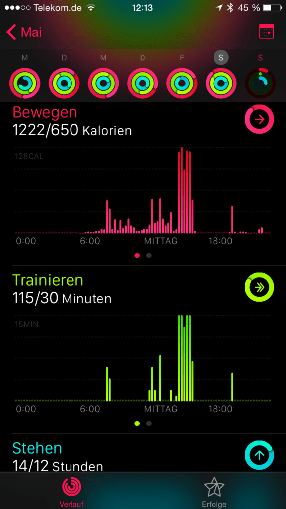 Apple Activity App iPhone