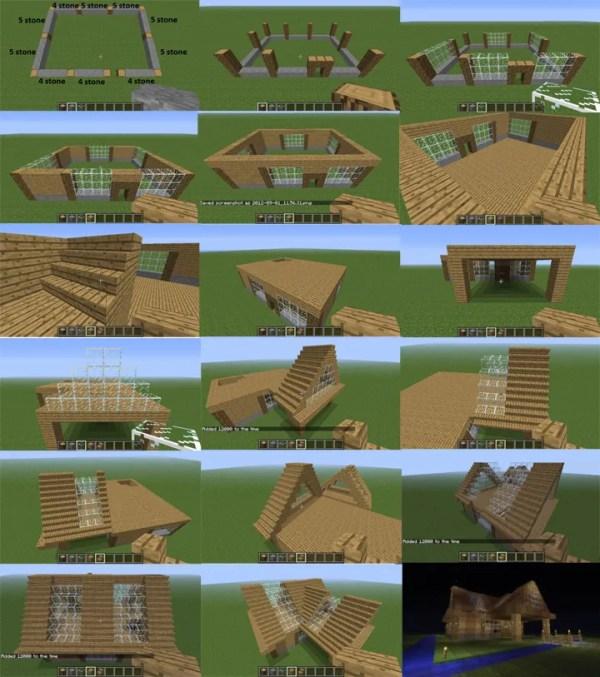 инструкция по постройке красивого дома в майнкрафт ...