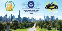 Приглашение 1-6 ноября 2019 г. в г.Мельбурн,Австралия на 27-й чемпионат мира по гиревому спорту